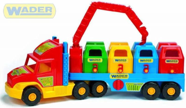 Super Truck popelářský vůz Wader