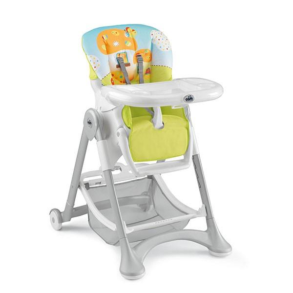 Jídelní židlička CAM Campione 2015, Col.215 - zelenomodrá muchomůrka