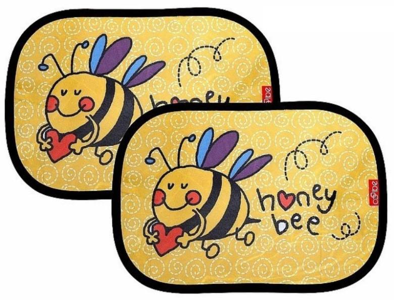 Clona na boční okno elektrostatická 2ks včelka