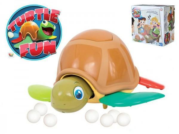 Turtle Fun společenská hra želva plast 22cm na baterie se zvukem