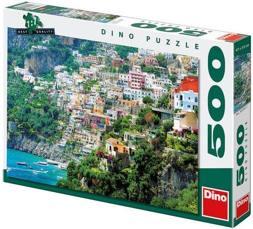 Puzzle Positano 47x33cm 500 dílků