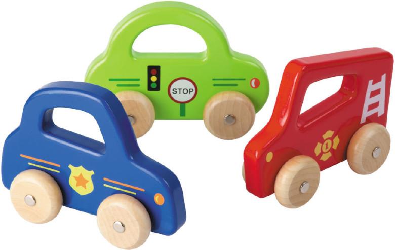 Dřevěné autíčko s úchytem