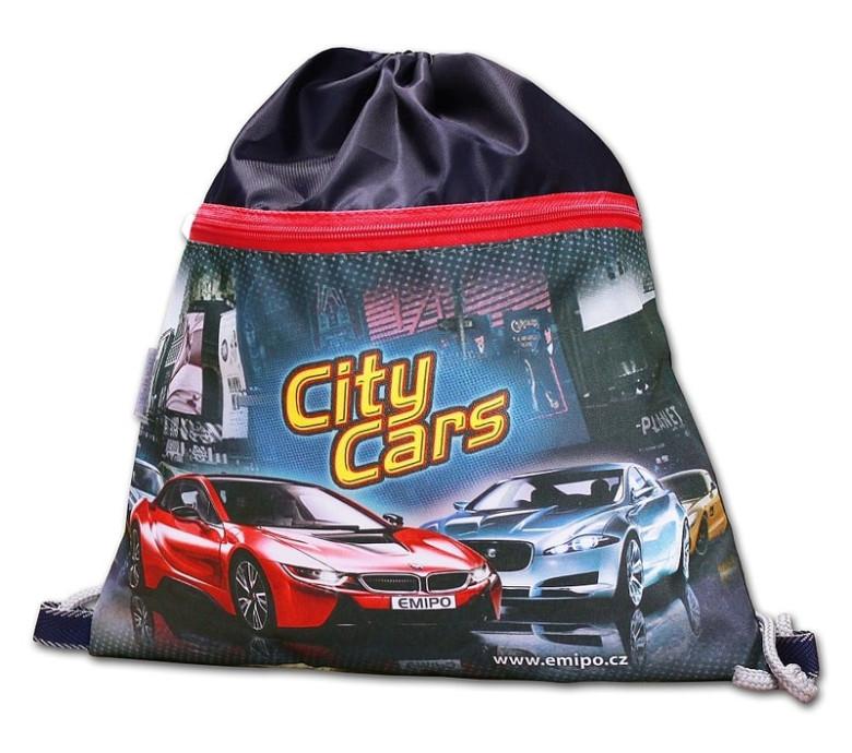 Školní sáček City Cars Emipo