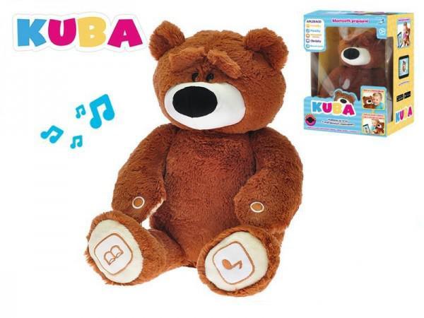 Naučný medvídek KUBA plyšový 35cm