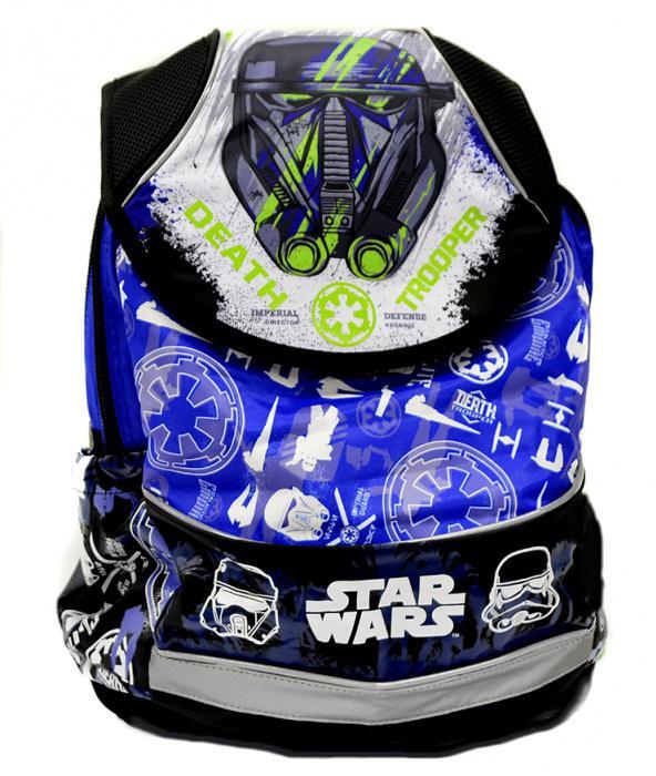 Akce Anatomický batoh PLUS Star Wars modro-zelený 079e3a0dd2