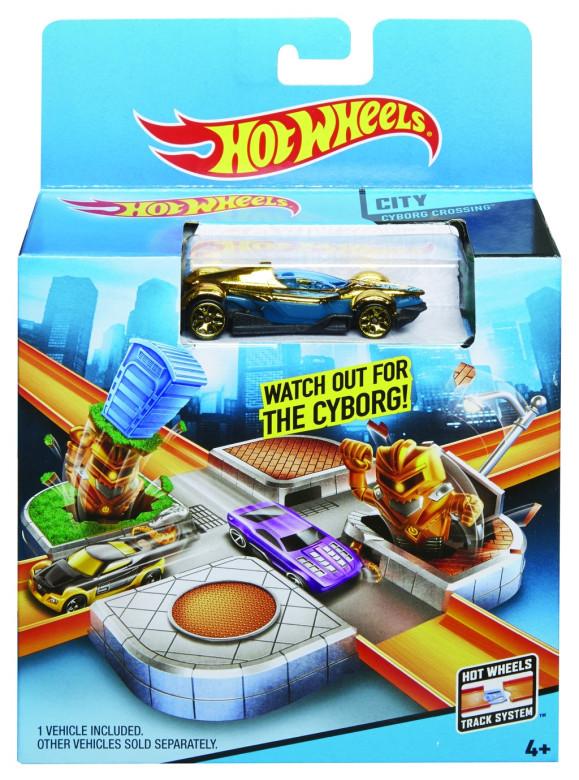 Hot Wheels set honička ve městě