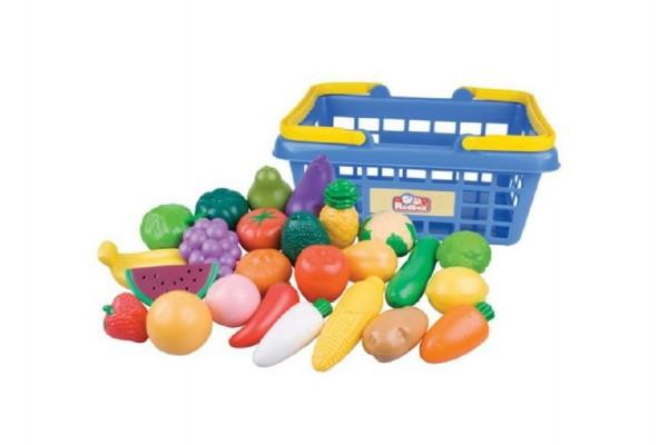 Nákupní košík ovoce/zelenina 25ks nezobra