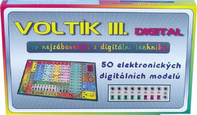 Voltík III - elektronická stavenice