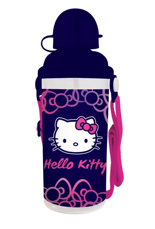 Karton P+P Láhev na pití plastová Hello Kitty 650 ml 2015