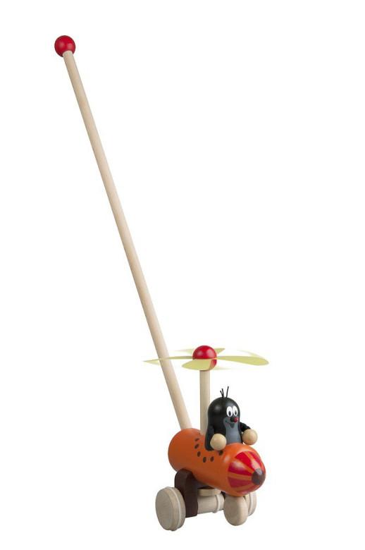 Strkadlo Krtek a vrtulník 60 cm
