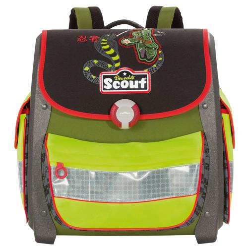 Školní aktovka Scout - Ninja a had