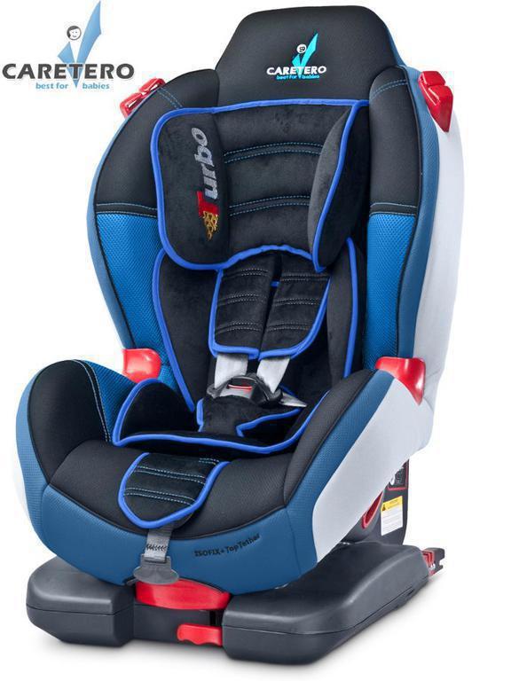 Autosedačka CARETERO TurboFix 2016 NAVY