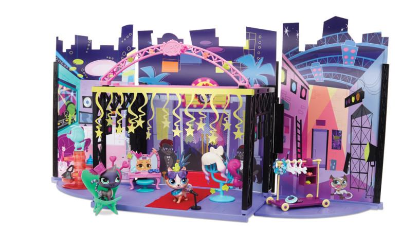 Littlest Pet Shop hrací sada zákulisí