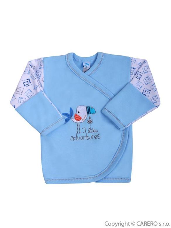 Kojenecká košilka Koala Garden vel. 56 MODRÁ