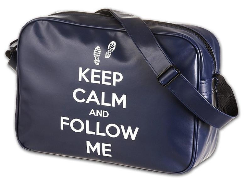 Studentská taška Keep Calm Walker nezobra