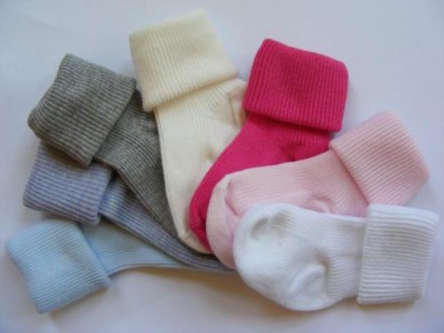 Kojenecké ponožky 6 -12 m bavlna Sponks