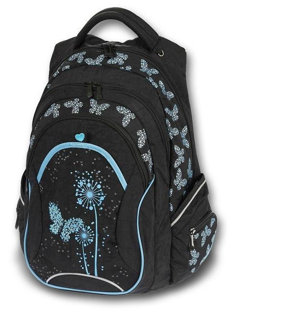 Studentský batoh Paradise černá Walker NEW  301fa6d0e2