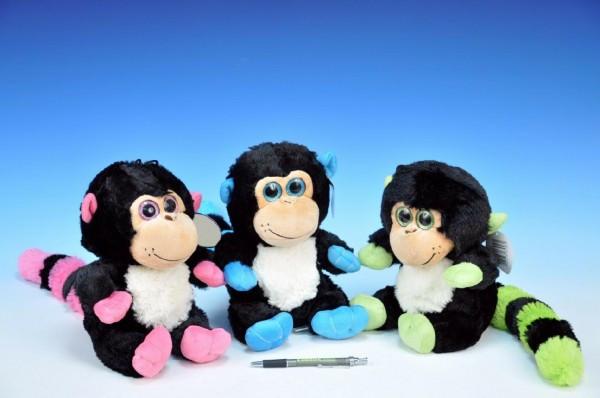 Plyšová opice sedící 25cm