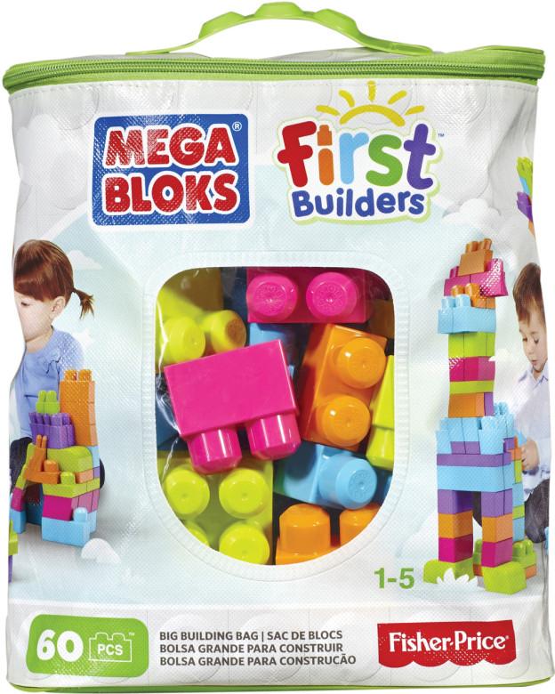 Mega Bloks First Builders Big Building bag unisex 60ks
