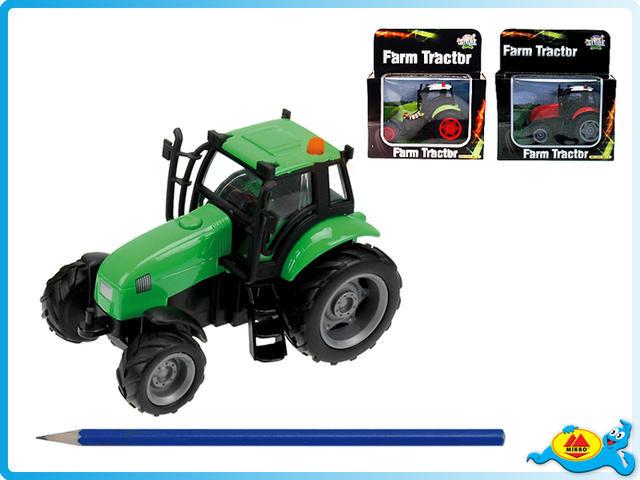 Traktor na setrvačník se zvukem a světlem, kov