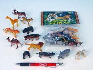 Zvířátka safari/ZOO malá