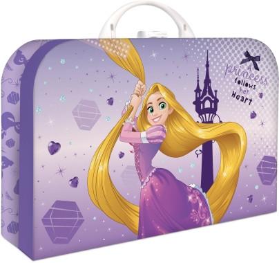Karton P+P Kufřík lamino Locika Rapunzel 35 cm