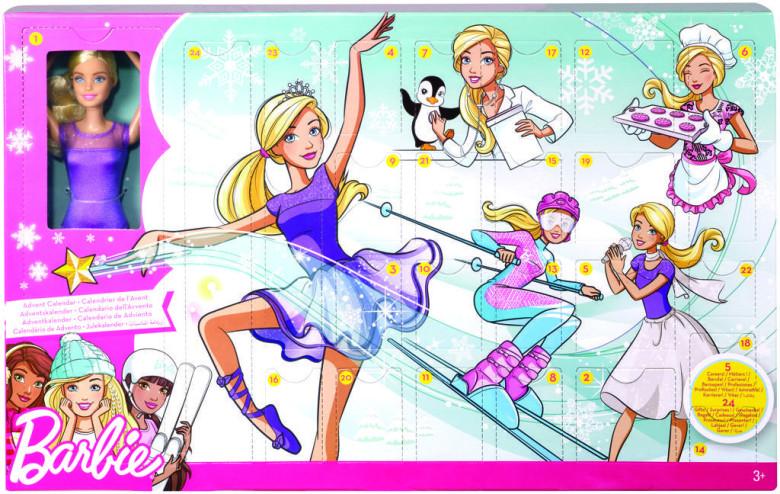 Barbie adventní kalendář