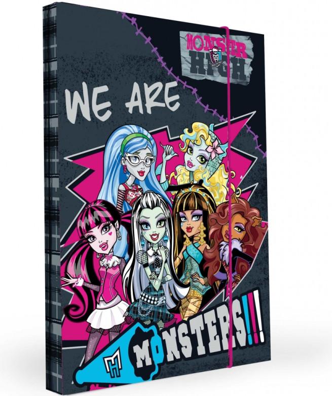 Desky na sešity Heftbox A5 Monster High nezobra