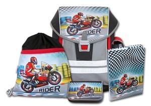 Školní aktovkový set ERGO ONE Rider 4-dílný Emipo