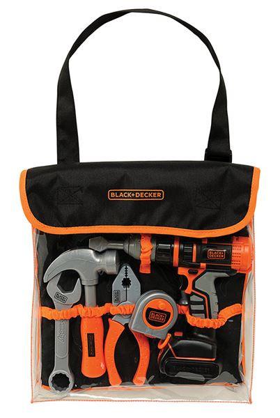 Black&Decker Sada nářadí s vrtačkou v tašce