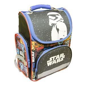 33c7eb9e820 Anatomický batoh ERGO KIDDY Star Wars II. modro-černý