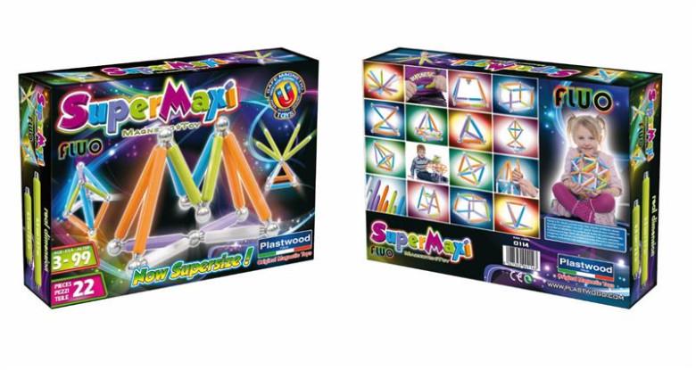 Supermaxi Fluo zářivé barvy 22d