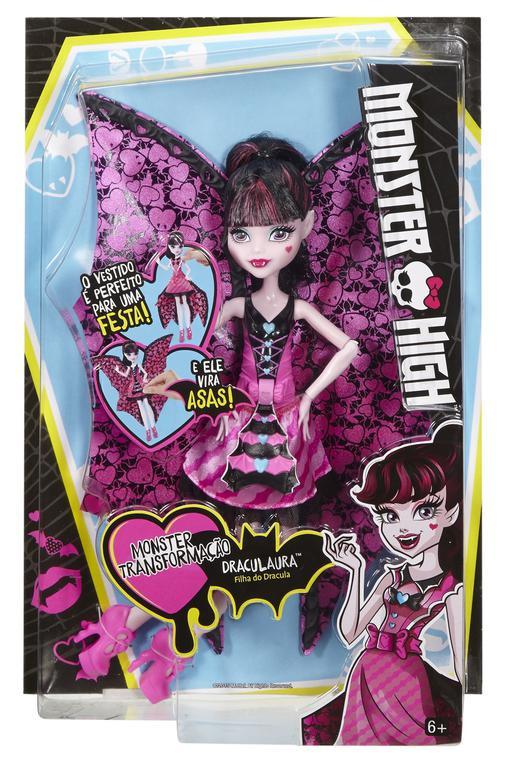 Monster High netopýrka Draculaura