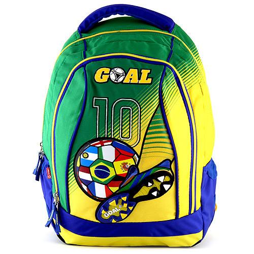 Batoh Goal - zeleno-žlutý - číslo 10