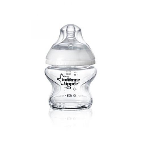 Kojenecká láhev C2N 150ml skleněná, 0m+ Tommee Tippee