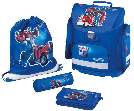 Školní batoh Herlitz Midi Transformers Optimus Prime modrý vybavený -nezobra d4b041e9ec
