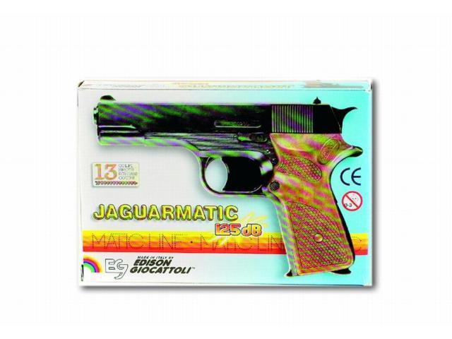 Policejní pistole Jaguarmatic třináctiranný - 16,5 cm
