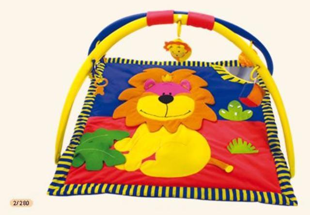 Hrací koberec s hrazdičkou LEV II.