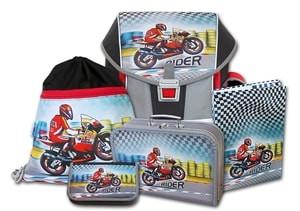 Školní aktovkový set ERGO ONE Rider 5-dílný Emipo