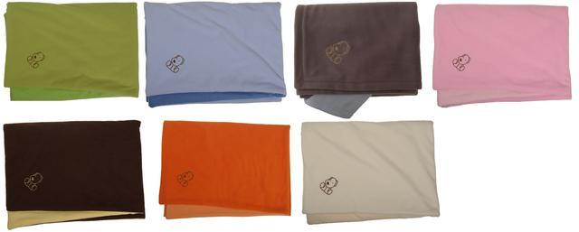 Deka fleece + bavlna s pejskem 75 x 100 cm