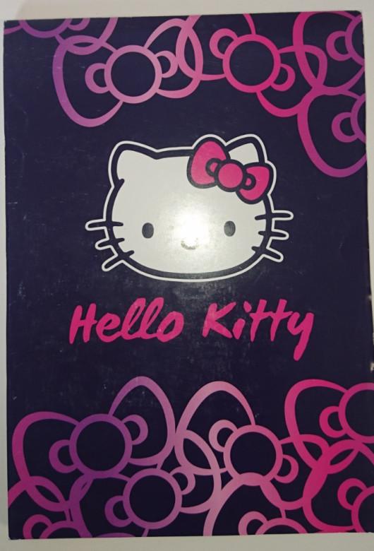 Blok A5 nelinkovaný Hello Kitty