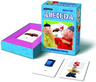 DIDACO vzdělávací karty abeceda Pat a Mat nezobra