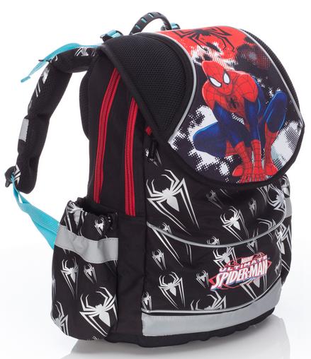 Karton P+P Anatomický školní batoh PLUS Spiderman 2016