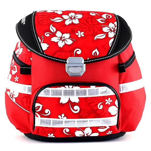 Školní batoh Leasyn Aloha - bílé květiny