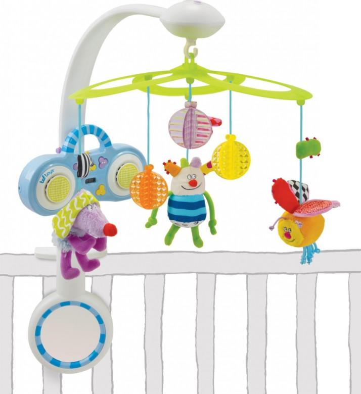 Kolotoč s MP3 přehrávačem Taf Toys