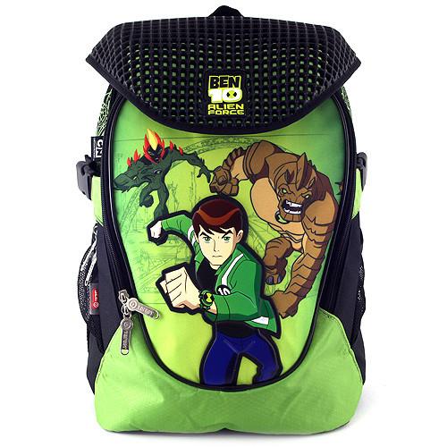 Školní batoh Ben10 - Běžící Ben s příšerami