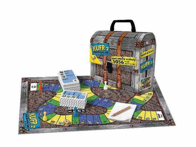 BONAPARTE Hra KUFR 2 (společenská hra)