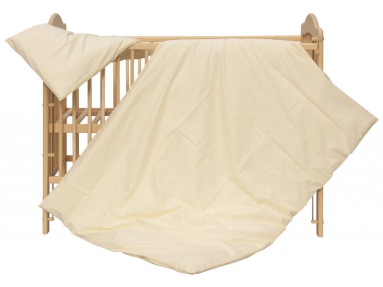 Dětské povlečení 2dílné - Scarlett Blanka - béžové 100 x 135 cm