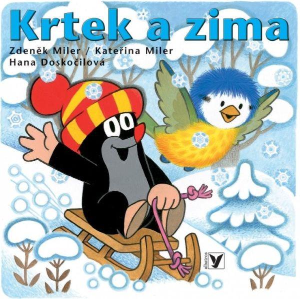 Knížka Leporelo - Krtek a zima