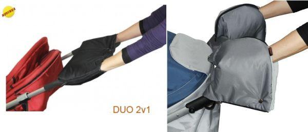Rukávník ke kočárku DUO 2v1 Emitex